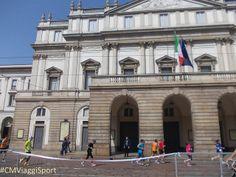 Milano Marathon @ Teatro La Scala. http://CMViaggi.blogspot.com/2014/04/milano-marathon-teatro-la-scala.html @Calogero Mira (CMViaggi) #CMViaggiSport #CMItaliaViaggi #CMViaggi