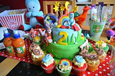 Tyler Lee's 2nd Birthday | In the Night Garden Themed Tea Party ♥ A post all about my sons 2nd birthday In the Night Garden themed tea party - http://www.dollydowsie.com/2015/02/tyler-lees-2nd-birthday-in-night-garden.html