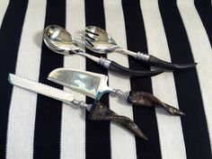 Choice of Handsome Serving Utensil Sets made by JesseDimondDesign
