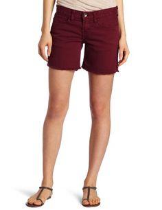 Lucky Brand Women's Abbey Frayed Cuffed Short