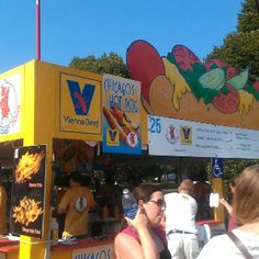 When it comes to Chicago's Hot Dog, theres only one. Vienna Beef.
