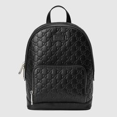 4cd96125a2a97 Gucci Signature leather backpack. Damskie TorbyDesignerskie Torebki PodróżeWatchesCzarny