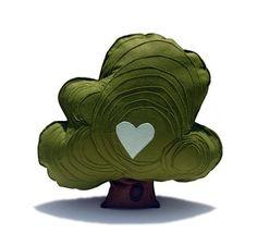 The Handmade Heifer Tree Pillow Hi Mr Oak Tree by hitree on Etsy Sustainable Textiles, Felt Pillow, Felt Tree, Cute Pillows, Oak Tree, Tree Tree, Nursery Inspiration, Designer Pillow, Felt Crafts