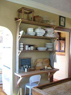 na-da farm life...with anne marie: barnwood kitchen shelving...