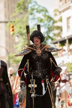 Jesse Nobles Cosplay Photography. DragonCon 2012, parade. Armor and weapons, Absynth Cosplay, softwork, accessories and model, Lamia Creations  https://scontent-b-lga.xx.fbcdn.net/hphotos-xfa1/v/t1.0-9/s720x720/403209_451155034937005_1880735498_n.jpg?oh=45e78833f917d994b8b8ce4e7ab39abe&oe=54D46C9F