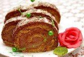 Recepty na torty, zákusky a koláče s orechmi Meatloaf, Nutella, Food And Drink, Rolls, Sweets, Beef, Cake, Basket, Mascarpone