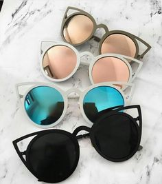 Are you still looking for the perfect accessories? We now have the perfect offer… Are you still looking for the perfect accessories? We now have the perfect offer for you! Check out our store! Stylish Sunglasses, Summer Sunglasses, Cat Eye Sunglasses, Mirrored Sunglasses, Round Sunglasses, Sunglasses Women, Fake Glasses, Glasses Frames, Glasses Style