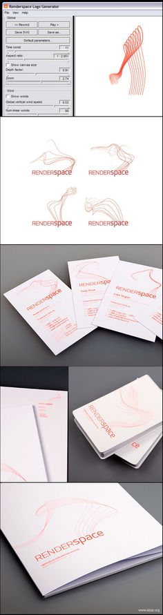 Clement Renaud • Generative logo design