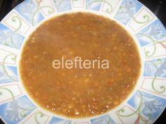 Γεύση Ελευθερίας: Φακές σούπα