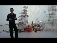 Artist's Talk: Sarah Sze - Sarah Sze on her inspiration for sculpting. I really like her artwork!