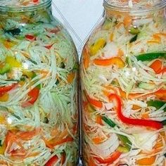 Conserve Archives - Page 3 of 14 - Bucatarul. Top Salad Recipe, Salad Recipes, Vegan Recipes, Georgian Food, Romanian Food, Yummy Food, Tasty, Russian Recipes, Canning Recipes