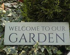 Fairy Garden Sign BEWARE of the TROLL ~ Handmade by Jennifer