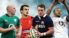 Four Nations: Paul O'Connell, Sam Warburton, Stuart Hogg and Courtney Lawes
