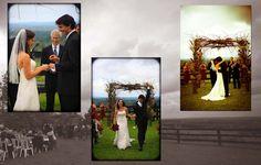 Bluemont Vineyard Wedding Album Page