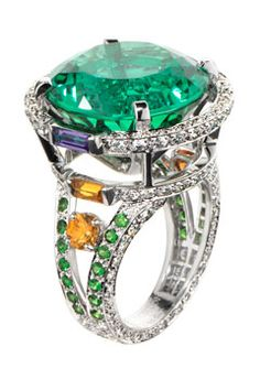Ritz Fine Jewellery Tourmaline ring