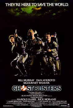 Ghostbusters Movie Poster 27 x 40