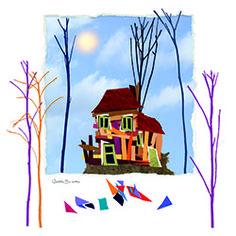 La casa de Caperucita