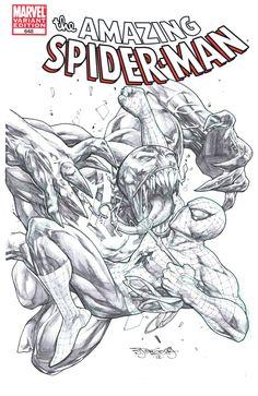 Spider-Man vs. Venom by Stephen Segovia *