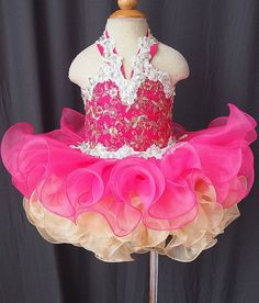 Infant/toddler/kids/baby/children Girl's Pageant/prom Dress/clothing 1-4T G040-4    eBay