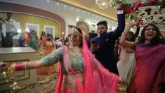 Indian bride Arushi enters dancing on her wedding on saiyyan super star Indian Wedding Quotes, Indian Wedding Video, Indian Wedding Bridesmaids, Indian Wedding Couple Photography, Bridal Photography, Punjabi Wedding Couple, Photography Ideas, Bride Entry, Wedding Entrance