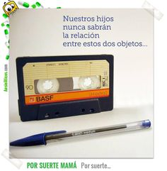 Our Kids will never know the relation between a cassette tape and a ballpoint ;) ............................................................. #BIC