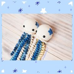 Pulpos para Bebé, pulpos tejidos a crochet