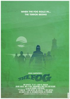 John Carpenter's The Fog Minimalist Poster