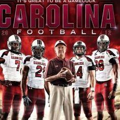 Carolina Gamecocks - Ready for Carolina football South Carolina Gamecocks Football, Gamecock Nation, College Football Teams, Usc College, College Ready, Football Stuff, Football Program, Sports Teams, College Life
