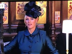 Zara Tindall while being schooled by Bishop Curry 19 May 2018 Harry And Meghan Wedding, Harry Wedding, Prince Harry And Meghan, Wedding Gifts, Princess Meghan, Royal Princess, Princess Diana, Royals Today, Royal Families Of Europe