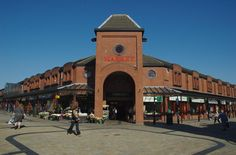 Tommyfield Market Hall, Oldham, Greater Manchester, England.  #ToHellAndBack #MariaRosaAuthor #Oldham #Manchester #England #UK #Britain #GreatBritain #travel #market