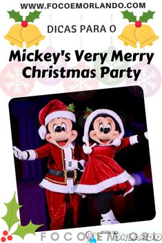 Dicas para a festa de Natal da Disney, o Mickey's Very Merry Christmas Party, no Magic Kingdom, no Walt Disney World Resort. #focoemorlando #wdw #orlando #mickeysverymerrychristmasparty