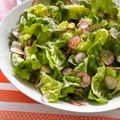Woman's Day (May 2012): green salad and honey lemon vinaigrette