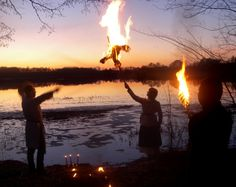 Celebrations of Jare Gody (Slavic feast of spring equinox) in Poland