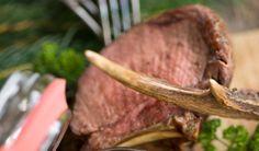 carne di cervo - venison http://www.venetoesapori.it/it/protagonista/ristorante-al-capriolo #food #italy #typical #veneto #belluno #dolomiti #cibo #cervo #carne #meat