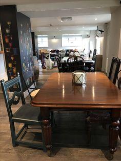 Village Inn, Dining Table, Restaurant, Furniture, Home Decor, Decoration Home, Room Decor, Dinner Table, Diner Restaurant