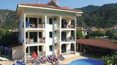 A small family run apartment in Icmeler located in the friendly resort central to all local super markets and restaurants. 15 minute walk to the local beach