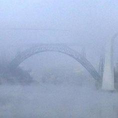 O Rio, as Pontes, o Nevoeiro... O Porto!