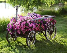 decorated backyards | Grand piano water fountain and container for decorating with flowers