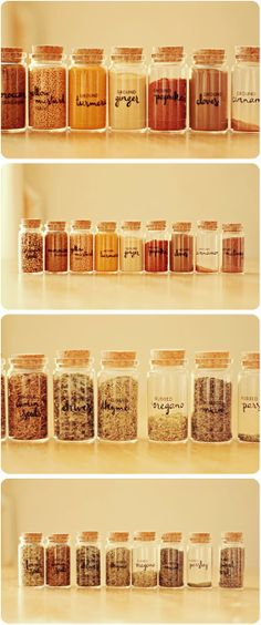DIY Spice Set / Voyages of the Creative Variety