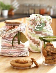 Yarnspirations.com - Lily Gift Bags to Knit or Crochet - Patterns    Yarnspirations. Digital book $3.95  Hard copy $4.95