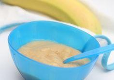 Babynahrung selbstgemacht - Bananen-Hafer-Brei Rezept