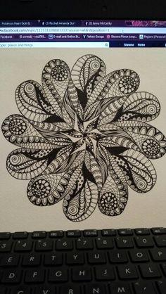 Mandala Zentangle Shawna Pierce