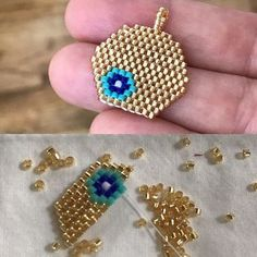 Creative crochet ideas – Just Trendy Girls - Salvabrani Beaded Jewelry Designs, Seed Bead Jewelry, Bead Jewellery, Bracelet Patterns, Beading Patterns, Fashion Earrings, Fashion Jewelry, Brick Stitch Earrings, Bead Loom Bracelets