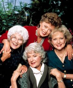 11 TV Friendships - Blanche Devereaux, Rose Nylund, Dorothy Zbornak, and Sophia Petrillo of The Golden Girls... #1 on the list!