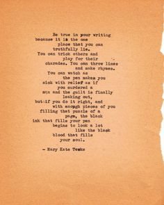 Mary Kate Teske { poem by Mary Kate Teske , shared with permission from the w...