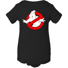 "Baby Onesie Funny Sayings ""Ghostbuster Inspired"""