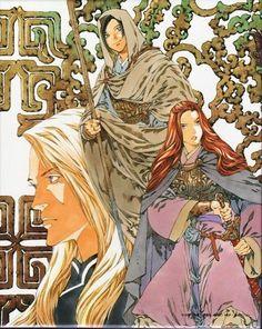 ・ Illustration Example, Illustration Art, Manga Art, Manga Anime, The Twelve Kingdoms, Character Art, Character Design, Phoenix Art, Art Corner