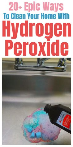 Diy Household Tips 177610779042317727 - Hydrogen Peroxide cleaning tips and tricks for your home. Source by sufferjet Household Cleaning Tips, Cleaning Recipes, House Cleaning Tips, Cleaning Hacks, Tips And Tricks, Cleaners Homemade, Diy Cleaners, House Cleaners, Diy Furniture Tv Stand