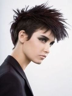 mohawk haircuts for girls - Google Search
