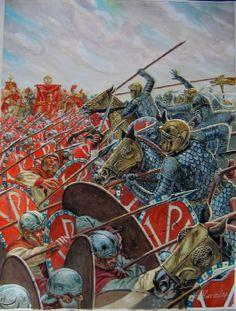 The Battle of the Milvian Bridge took place between the Roman Emperors…